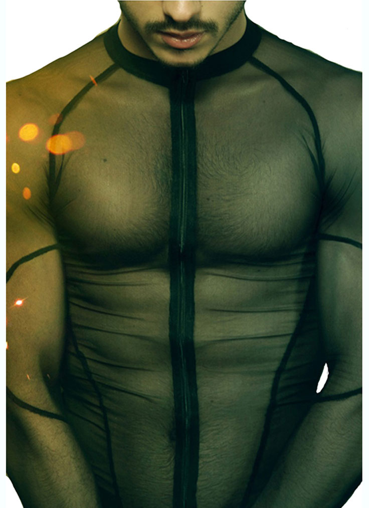 Men's bodysuit